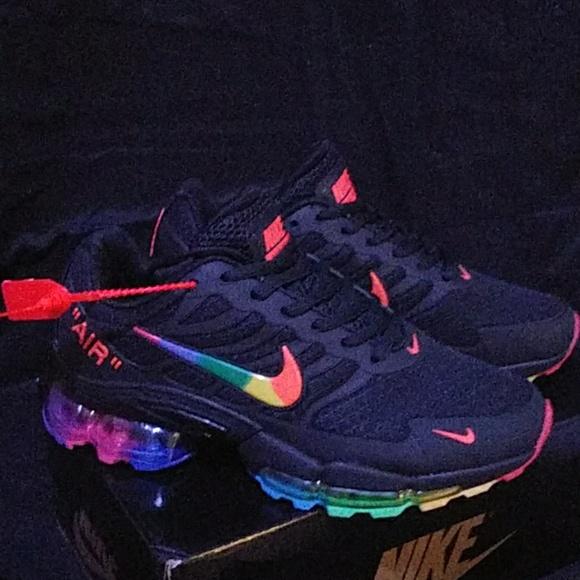 Sold Womens Nike Rainbow Airmax Size